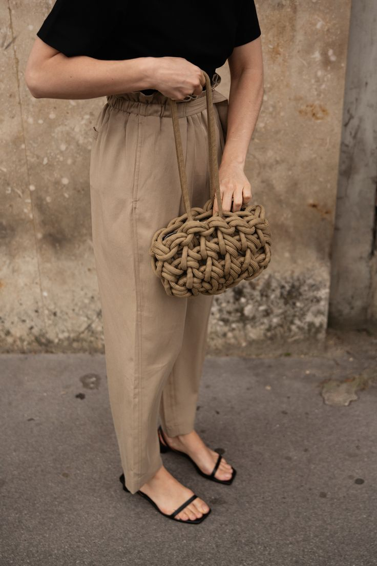 PAPERBAG TROUSERS.