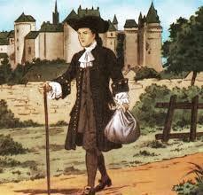 San Luis camino a París