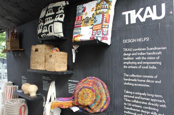 TIKAU at London Design Festival Tom Dixon organised a West London hub at Portobello Dock. Autumn 2012
