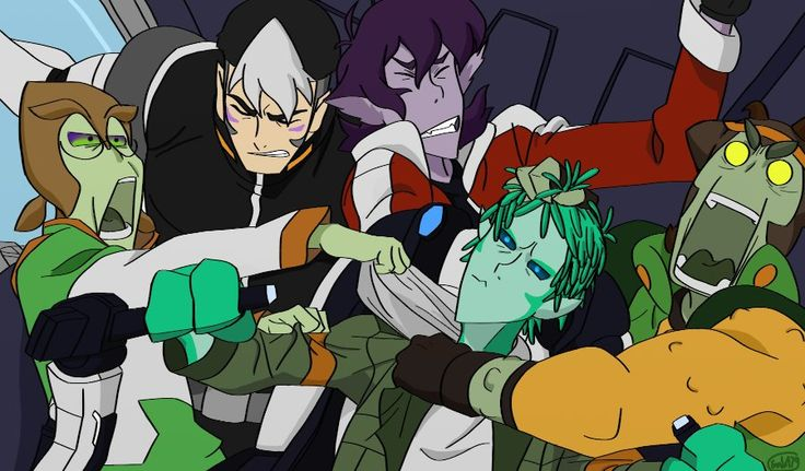 There Are New Aliens To Draw The Paladins As Olkari Pidge -3135