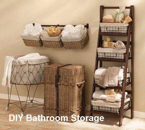 New DIY Bathroom Storage Ideas #storage   Badezimmer ...