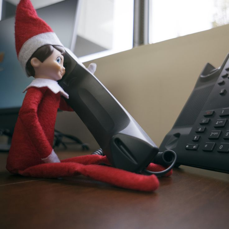 Frankie was able to sneak in a call to Santa today to give him an update. 2 Thumbs up! Give Santa a call yourself: (951)262-3062 #Santa #ElfOnTheShelf
