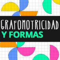 Fichas de grafomotricidad y formas