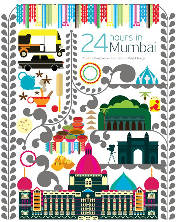 24 hours in Mumbai - Patrick Hruby for Qatar Airlines inflight magazine