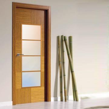 Making careful use of the worlds natural resources and re-using all the waste product to produce the stunning consistent grain within the beautiful prefinished SanRafael Lisa style K12V4 reconstructed teak fire door. #directdoors