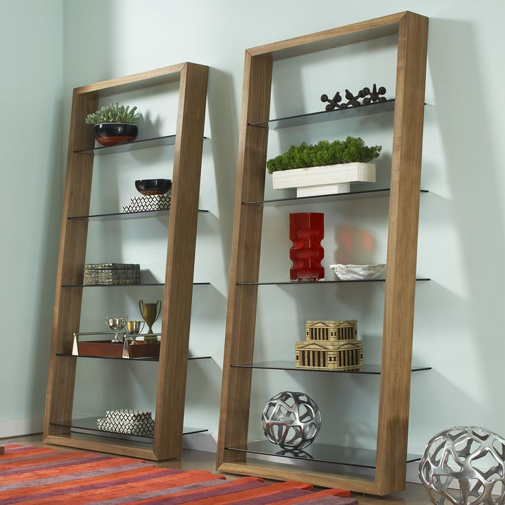 Walnut Shelves, Living Room Furniture, Office Furniture, 2015 CORT  Signature Collection