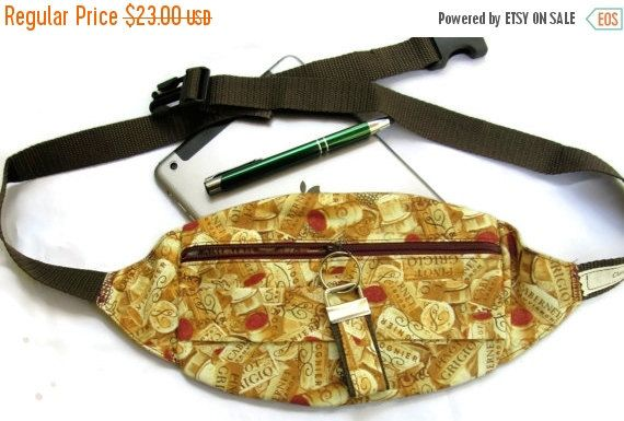 Belt Bag, Stylish Fanny Pack, Adjustable Fanny Packs, Fashion Fanny Pack, Wine Lovers Gift, UnisexBag, Hip Bag, Hip Pouch