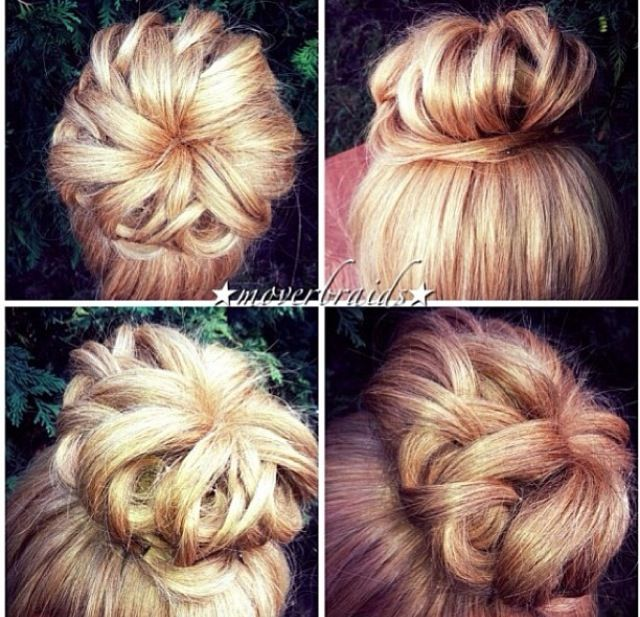 Fabulous Fancy Buns And Buns On Pinterest Hairstyles For Women Draintrainus