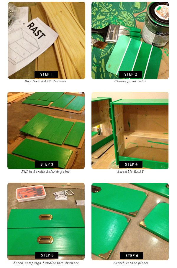 DIY FILES:: CAMPAIGN DRESSER IKEA HACK | FUJI FILES