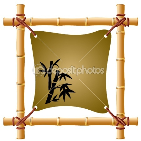 bamboo picture frame: Illustration, Picture Frames, Bamboo Craft, Crafty Ideas
