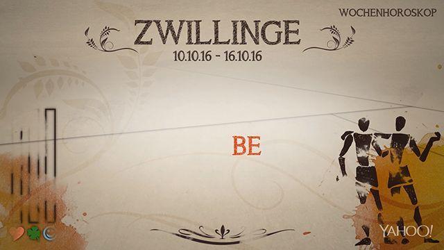 Wochenhoroskop: Zwilling (KW 41 - 2016) - So stehen deine Sterne Kinder Wochen vom 10. - 16.10.2016 #Horoskop #Zwilling #Liebe #Gesundheit #Job