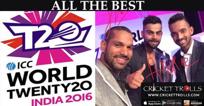 Chak De India!! #Twenty20   #WorldCup   #India2016   http://www.crickettrolls.com/2015/12/20/chak-de-india-icc-world-twenty20-india-2016/