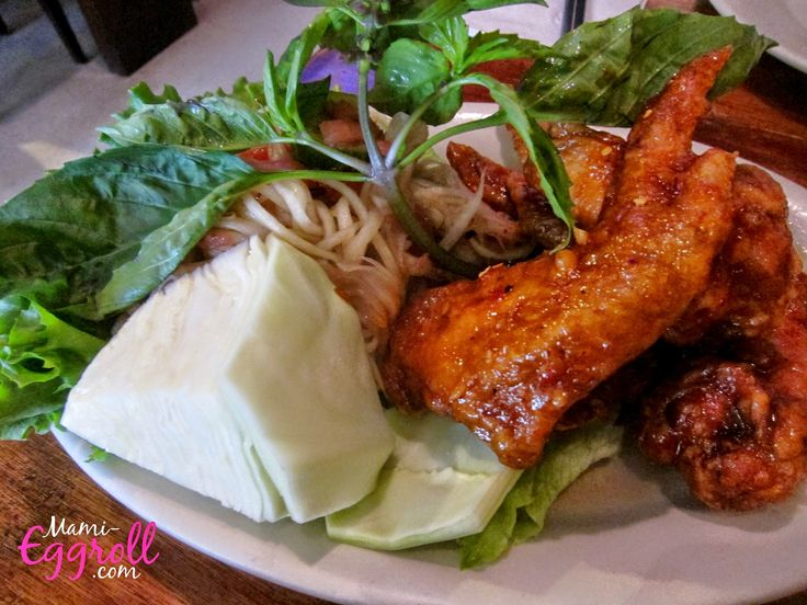 Mami-Eggroll: Egg rolls, hot wings, noodles and more at Simply Khmer Cambodian Cuisine in Lowell