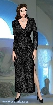 Russian site with lots of free patterns - This page is for this Dress Pattern.  ~ There is a link near the bottom of the page: Pattern-Free patterns, it will take you to their listing of free patterns available.   Sizing chart is here http://www.osinka.ru/Pattern/Measurements.html