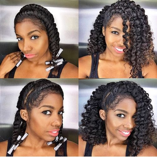 curly kinky hair styles best 25 hair twist out ideas on 1252 | 74d909617457ecd3a4b4d247f560b1cc kinky curly hairstyles hairstyles for natural hair