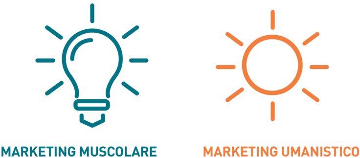 Marketing muscolare e marketing umanistico. Le differenze.