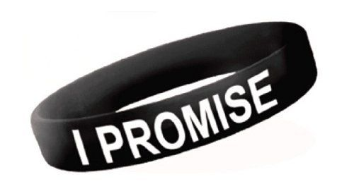 LeBron James Family Foundation I PROMISE Bracelet, Black by LeBron James Family Foundation. $5.00. Supports the movement to change the nations graduation rate. Where will your promise take you?. Available in small (7-inch) and large (8-Inch). Supports the LeBron James Family Foundation. Silicone wristband