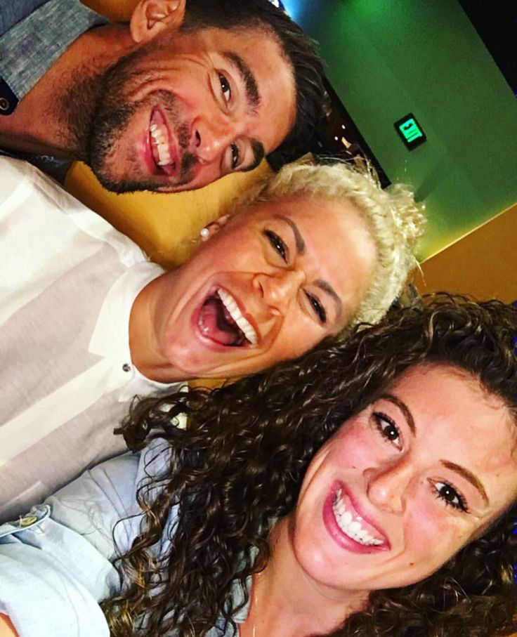 Michael Phelps, Elizabeth Beisel and Allison Schmidt