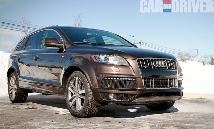 Not every car can pull off a brown exterior, but this #Audi #Q7 is looking sharp  #SUV #Luxury