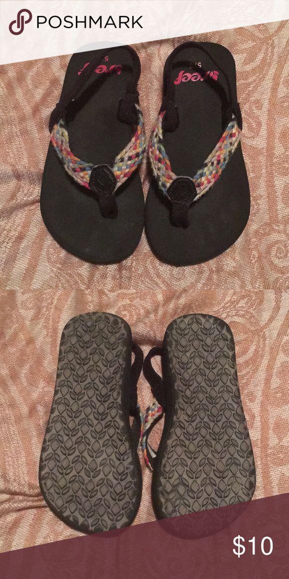 Flip flops (toddler) Reef flip flops. Minimal wear, still have a lot of love to offer! Reef Shoes Sandals & Flip Flops
