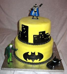 Batman Birthday cakes