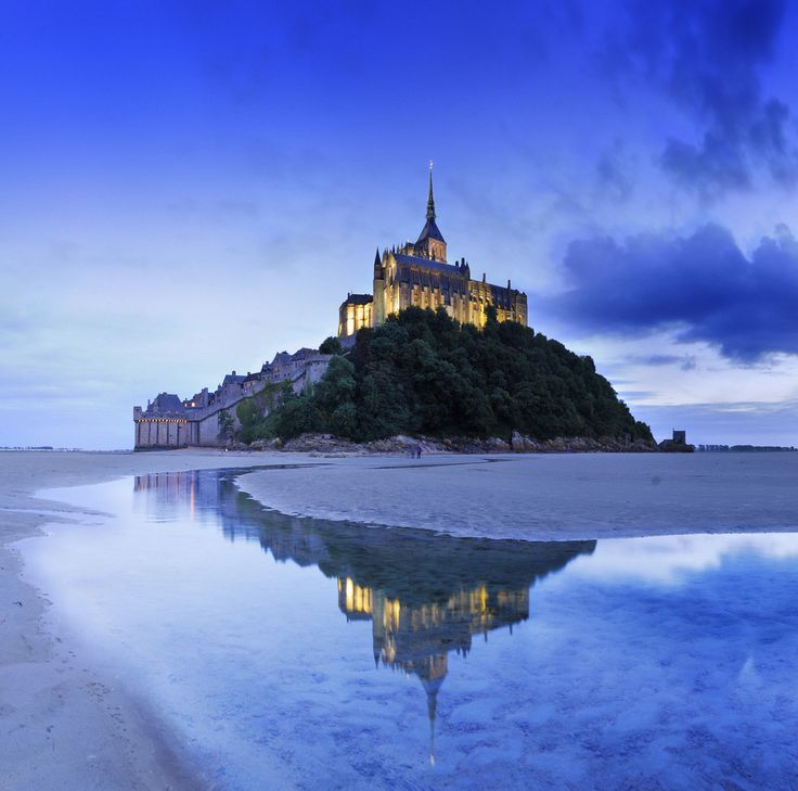 Mont Saint-Michel, France (by NETC.Educational.Travel)
