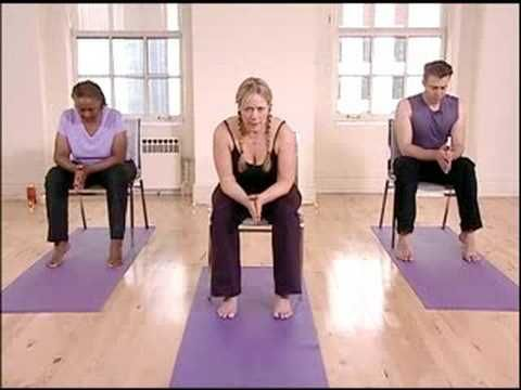 Chair Yoga for Seniors Yoga Sun Salutation - YouTube