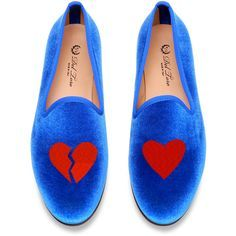 Del Toro Broken Hearts Loafer ($340) ❤ liked on Polyvore - Do you still wish to dance now your heart is broken? ...Allow the dance of love heal your pain-go to http://www.psychicinstantmessaging.co.uk/pimpin3