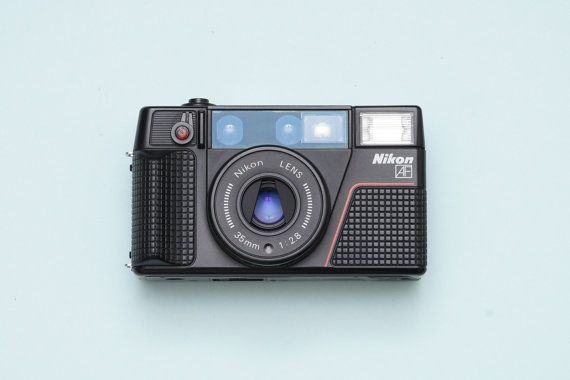 Nikon L35 AF2 Autofocus Compact Film Camera with by ohsocult