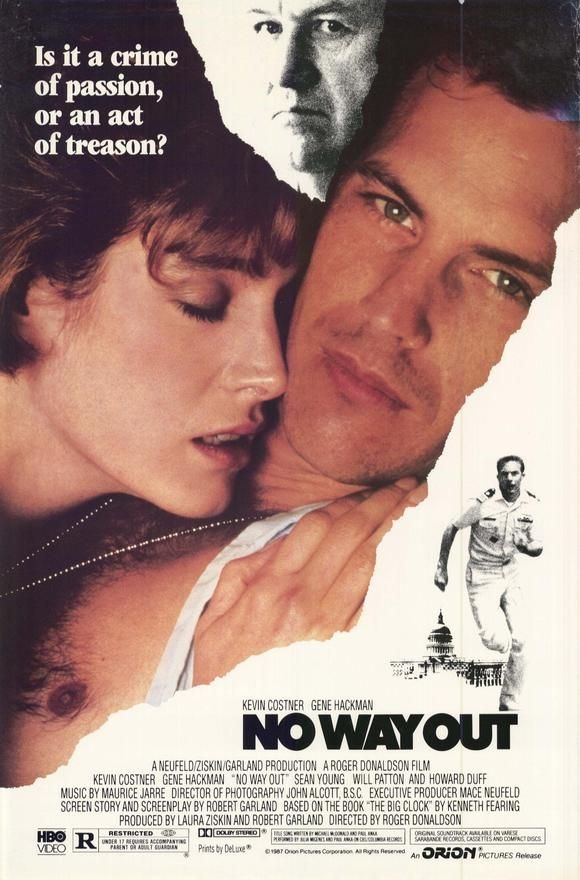 Before she went nuts and he got a huge head ... good movie.  Gene Hackman always good.