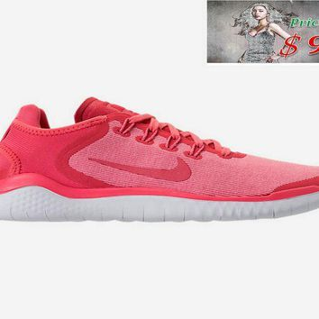 info for b9212 00587 x sneaker WOMENS NIKE FREE RN 2018 RUNNING SHOES AH5208 800 Sea Coral  Tropical Pink Vast