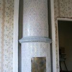 Old tile stove.