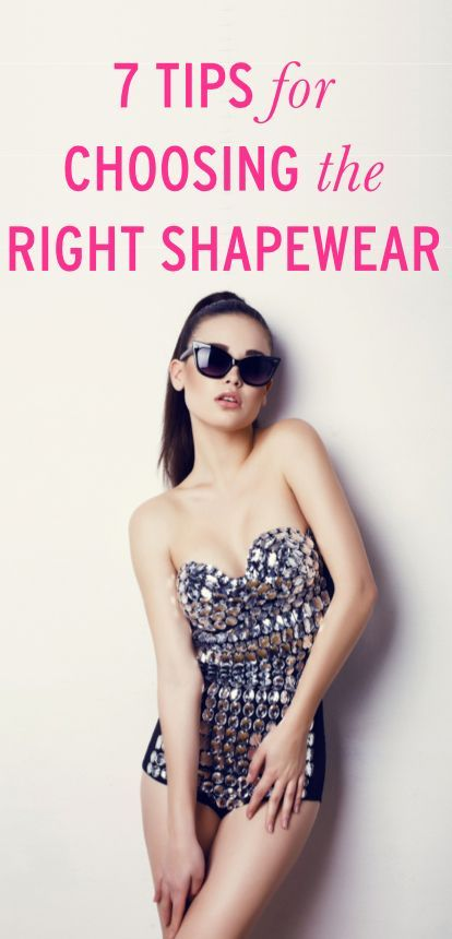 Choose the right, Shapewear and Electronics on Pinterest