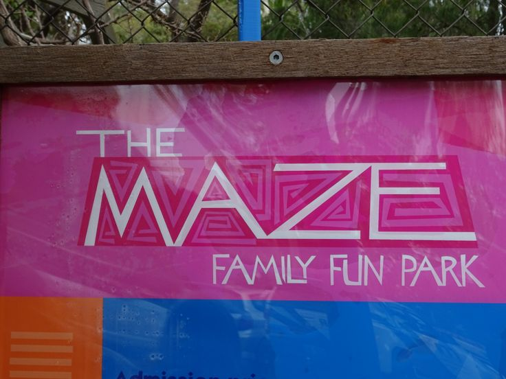 The Maze, Perth, Western Australia in Perth, WA - This is a great family oriented place to spend a day.  For one price you can do all of the mazes (and there are several), play miniature golf, play on the bouncing pillows, play on some playground equipment, picnic at the picnic tables  and during the summer play on the water slides.