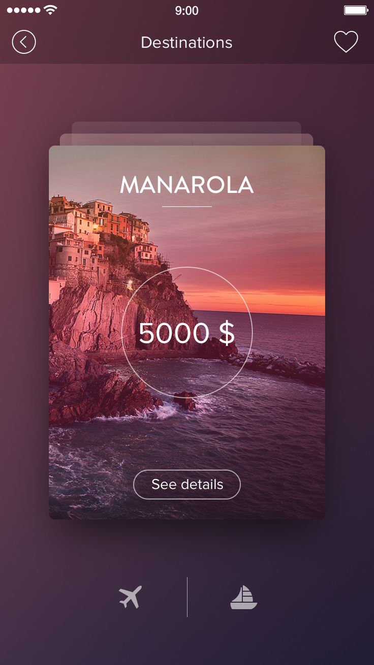Extremely Helpful Apps You Should Have When Travelling Dribbble - card_new.png by Alexander Zaytsev