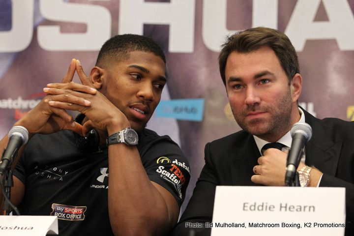 The Super (expensive) Fight! Klitschko-Joshua tickets going on re-sale for as much as 35000