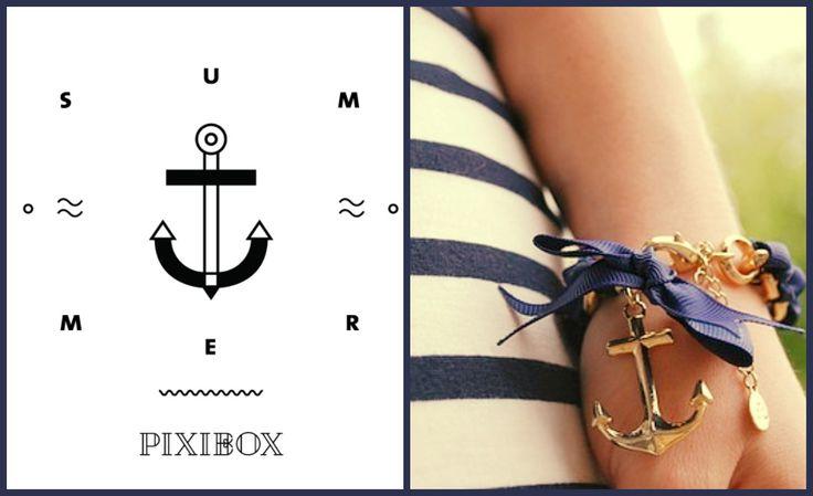 Navy style No.2. - PIXIBOX SUMMER inspirations