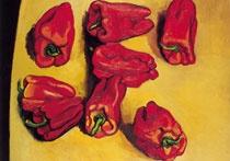 I peperoni di Renato Guttuso