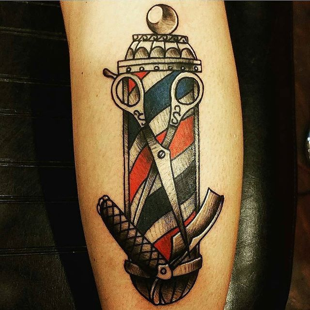 barbershop tattoo