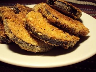 LCHF-bloggen: Friterte auberginer