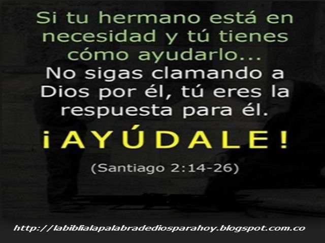 La Biblia La Palabra De Dios Para Hoy: Citas biblicas de amistad-Santiago-2-14-26