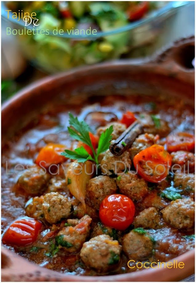 Tajine de kefta (boulettes de viande)