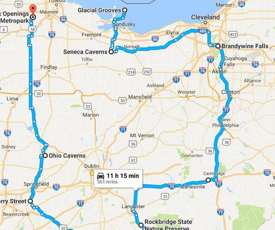 Ohio is the best state for road trips. From haunted locations to delicious restaurants, here are 10 unforgettable road trips to take in Ohio.