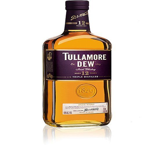 Tullamore Dew 12 Year Old Whiskey. Gifts for whiskey lovers.
