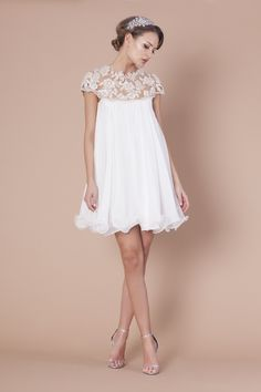 Robe mariee champetre vintage