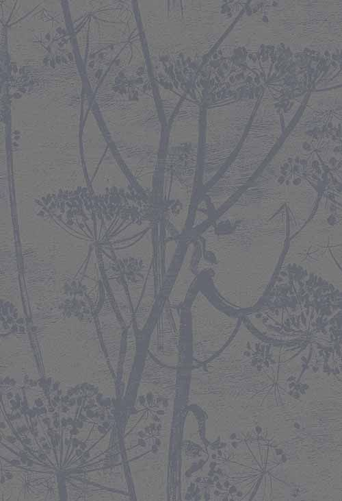 Cow Parsley Charcoal wallpaper by Cole