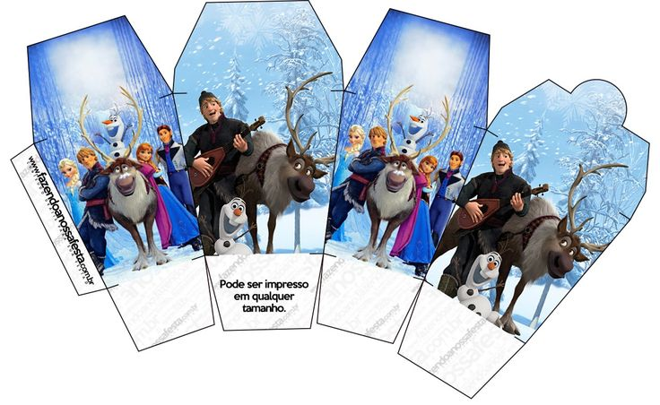 Is it for PARTIES? Is it FREE? Is it CUTE? Has QUALITY? It´s HERE! Oh My Fiesta!: Frozen: Free Printable Party Boxes.