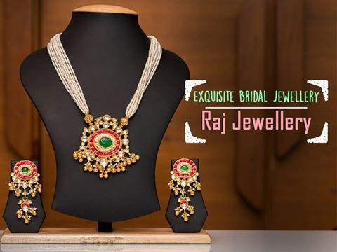 Exquisite Bridal Jewellery from #RajJewellery. Address: 3, Dev Aryan Complex, besides Sugam Avenue, opp Mahalaxmi Tower, New Vikas Gruh Road, Paldi, Ahmedabad. Contact: 9998800520 #Fashion #Jewellery #Accessories #CityShorAhmedabad