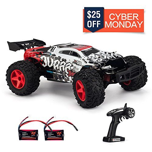 #Remote #Control #Car, #KOOWHEEL 1:12 #Scale #4WD #RC Cars,Fast #30MPH #Electric #Racing #Car Off #Road #RC #Monster #Truck #RTR #RC #Buggy #LED #2.4Ghz #Radio #Controlled #Car with #2 #Rechargeable #Batteries Double time Double fun: #Koowheel cars come with #2 #batteries, 7.4V 1500mAh Li-ion battery,could support the power for the engine reach top speed of #30mph. The full battery could ran 15-20 mins. Recharging battery via USB port , more functional. Realistic desert buggy