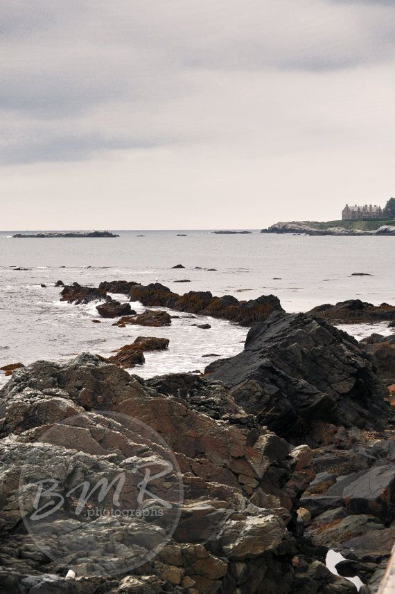 Newport Shoreline by BMRphotographs on Etsy